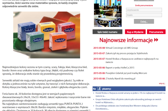 Słowni, Słowni.pl, artykuły sponsorowane