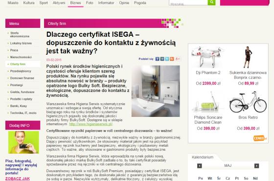 Słowni, Słowni.pl, kosmetyk i higiena